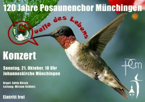 Flyer PCM-Konzert